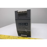 Sola SDN4-24-100LP Hevi-Duty 115/230V Input 24 VDC Output Power Supply