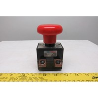 Curtis ED250-1 48V Forklift Emergency Master Disconnect Push Pull Switch