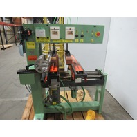 Conquest 2-46 Dual 23 Spindle Line Boring Machine 440V 4Hp