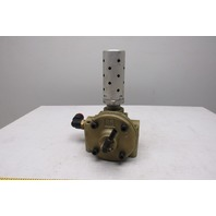 Ross 2753A3001 3 Way 2 Position Normally Closed Air Pilot Poppet Valve