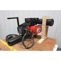 "CM Lodestar RRT2 Electric Hoist 3 Ton 11'6"" Lift 2 Speed 635 Power Trolley 230V"