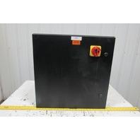 "SCE 24EL2410LP 24""x24""x10"" Wall Mount Electrical JIC Enclosure w/Backplate"