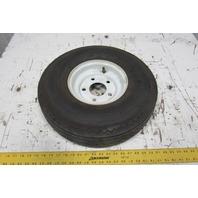"""Deestone 5.70-8 Trans Master 18"""" x 5.70"""" Tubeless Foam Filled Tire 5 Bolt Hub"""