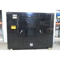 """Hoffman 3 Door Electrical Enclosure 86""""x112""""x14"""" W/ Back Plates Door Gaskets"""