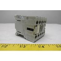 General Electric MC1A301ATC 24VAC IEC Mini Magnetic Contactor 3P 9A