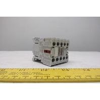 General Electric MC1A310ATJ 24VAC IEC Mini Magnetic Contactor 3P 9A