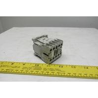 General Electric MC1A310AT 24VAC IEC Mini Magnetic Contactor 3P 9A