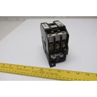 General Electric CR7CH-11 Magnetic Contactor 120V Coil 3 Pole 45A 30HP 460V