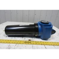 "Kobelco/Donaldson KF-353 Pneumatic Inline Filter W/Indicator Gauge  1-1/2"" NPT"