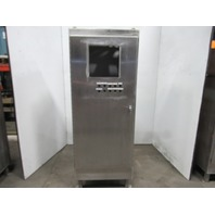 """Hoffman A723018SSFS Stainless Steel Electrical Enclosure 72x30x18"""" W/Backplate"""