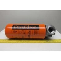 """Donaldson 1""""npt Hydraulic Filter Adapter W/P165332 Spin -On Filter"""