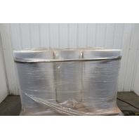 "253588-001 Clear Plastic Sheeting 28-1/2""x16500' x0.00125 Lot of 5"