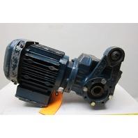 SEW-EURODRIVE 850.133079.14.14.004  Hollow Shaft Gearmotor 230/460V 3Ph 48RPM