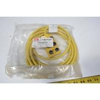 HTM DSTR6-5/4PA-1105 Distribution Box Assembly M12 5 Pole 4 Wires PNP W/LED