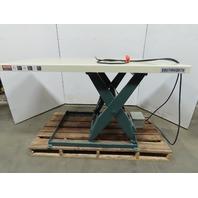 """Southworth LS4-36 4000lb Hid Scissor Lift Table 80x36"""" Top 7-43"""" Ht 208-230/460V"""