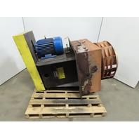 """Heat Exhaust 30x30"""" Plug /Blower 10HP Belt Driven 27"""" Stainless Steel Fan 3Ph"""