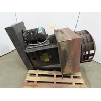 """Heat Exhaust Fan/Blower 10HP Belt Driven 27"""" Stainless Steel Fan 30x30"""" Plug 3Ph"""