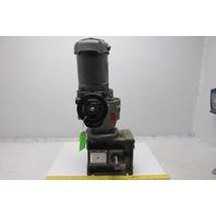 Comtrac TD27-0-F-K-56 5:1 Ratio 1/2Hp 208-230/460V Variable Speed Gear Motor