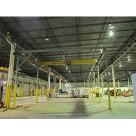 Kone Cranes 5 Ton 10,000# 120' x 32' Free Standing Bridge Crane System Remote