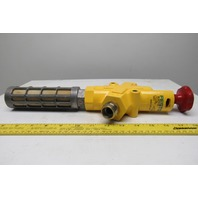 Festo HE-G1/2-LO Lock-Out Safety Shut-Off Valve W/Muffler 150 PSI