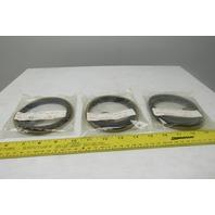 """Sheffer 720 00400 4"""" Bore C20 Piston & Rod Seal Kit Lot Of 3"""