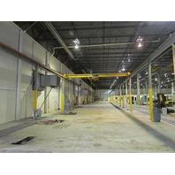 Detroit-Williams 3 Ton 6000# 250' x 32' Free Standing Bridge Crane Hoist System
