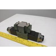 Rexroth 4WE6E52/AW120-60 N9DAL 4/3 Position Solenoid Valve 120V Coil