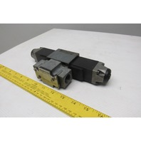 Rexroth 4WE6R52/AW120-60NDAL 4/3 Position Solenoid Valve 120V Coil