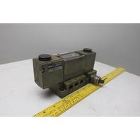 Ross W7077A2331 4/3 Position Open Center Pneumatic Valve 120V Coil
