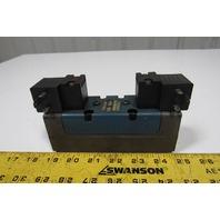 Rexroth GS020062-02424 4/2 Position Solenoid Pneumatic Valve 150PSI 120VAC