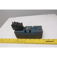 Rexroth GS20062-2424 4/2 Position Solenoid Pneumatic Valve 120 VAC Coil