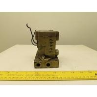 Ross W1616A2020 4/2 Position Pneumatic Valve 1-10 Bar 120V Coil