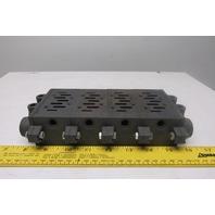 Festo VDMA24345C1 Pneumatic Valve Subplate Manifold Assembly