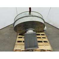 North American 2320-35/2-T100 10Hp Blower/Fan 1050CFM 3500 RPM 230/460V 3Ph