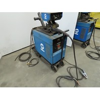 Miller CP-300 Welder 300A W/S-52E Wire Feeder/Tweco Mig Gun & Wheel Pkg. Tested