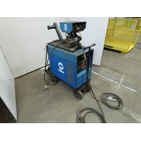Miller CP-300 Welder 300A W/S-52E Wire Feeder/16' Mig Gun & Wheel Package Tested