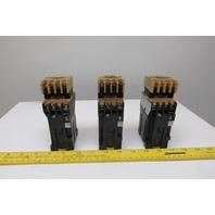Allen Bradley 700DC-F400 60V AC 250 DC Magnetic Contactor 24VDC Coil Lot Of 3