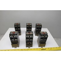 Allen Bradley 700-P800A1 600V Direct Drive Magnetic Contactor 120V Coil Lot Of 6