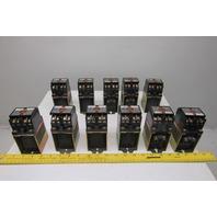 Allen Bradley 700DC-P400Z24 600V AC/DC Magnetic Contactor 24VDC Coil Lot Of 11