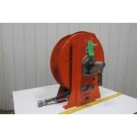 "Gleason UH241001-20-1406-4 300 PSI Spring Return Air Water Hose Reel 1-1/4"""