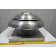"""Soler & Palau ARE12MM1AS Dome Roof Exhaust 12"""" 1187 CFM 208-115-230V 1Ph"""