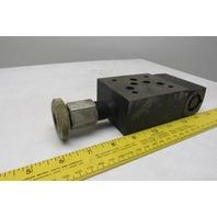 Parker MPR600SB-I-13 Hydraulic Pressure Control Valve
