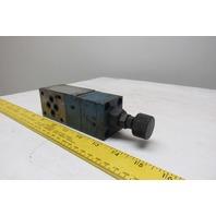 Parker PRM2PP25K 5000 PSI Hydraulic Pressure Control Valve