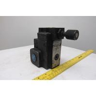 "Double A B063MJ10B1 3000PSI Hydraulic Flow Control Valve 1"" Ports"