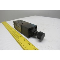 Parker PRM2AA06KV31 5000PSI Hydraulic Pressure Control Stack Valve