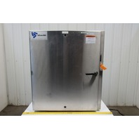"""SCE -42xEL37.512 Stainless Steel Electrical Enclosure 42x37-1/2x12"""" W/Backplate"""