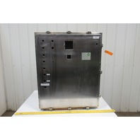 """Austin Stainless Steel Electrical Enclosure 36""""x30""""x10"""" W/Backplate"""