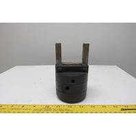 """Fabco GR22-30-200 Pneumatic Parallel Gripper Cylinder 2"""" Closed 2-1/2"""" Open"""