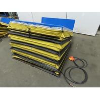 """Vestil UNI-4848-4 4000LB Hydraulic 35° Tilt Table Upender 13"""" 25° Lift 230V 3Ph"""