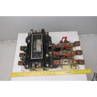Square D Class 8536 Type SG01 600V 200Hp Size 5 Starter 120V Coil